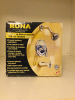 RONA tub and shower faucet.