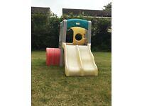 Little tikes climbing frame/slide
