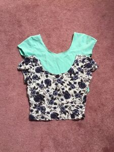 Garage crop tops * size small