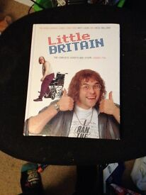 Little Britain rare script book