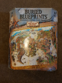 For sale is a Buried Blueprint Lost City of Atlantis puzzle.