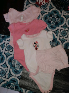 Baby girl clothes lot Newborn 0-3 month