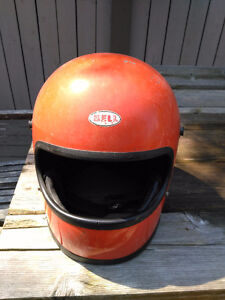 Bell Star (x2) and 1 Shoei Helmets