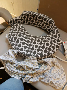 My brest friend nursing pillow and extra cover