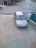 Honda Civic CX 1990 à vendre!
