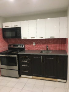 BRAND NEW 1 Bed Bsmt Apt for RENT