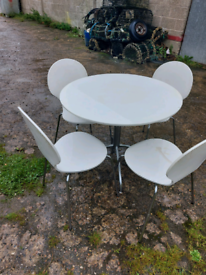 3ft table and chairs