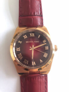 Michael Kors - Red & Gold watch