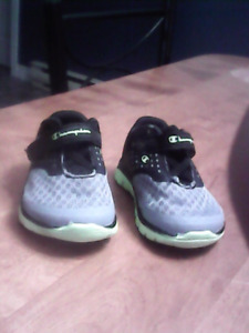 Size 2W  baby boys Champion brand shoes