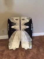 TPS Summit Pads 31+1 and other goalie equipment