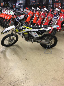 2016 Husqvarna FC450 Winter BLOWOUT!!