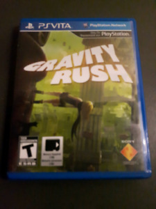 Gravity Rush for PS VITA FS or trade