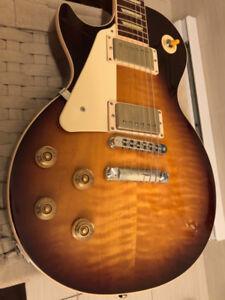 Gibson Les Paul 2013 gauchère/left handed A+
