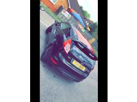 Ford Fiesta black and red edition