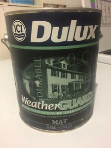 New Dulux Weather Guard Exterior Paint
