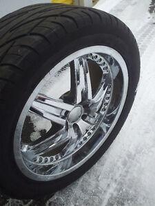 4 Champiro Tires and Low Profile Rims 275/45R20
