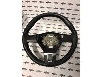 VW transporter T5 2010-2015 almost new leather steering wheel