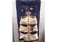 Door over hanger pocket organiser pirate as new