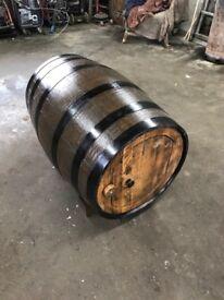 Whiskey barrel dog kennels £165 ono
