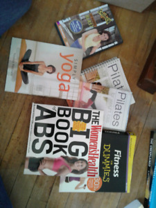 Fitness books and dvds