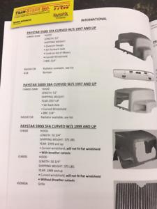 NAVISTAR PAYSTAR 5900I SFA CURVED W/S 1999 & UP FIBERGLASS HOOD