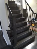 Staircase and Railings Reface and Refinish