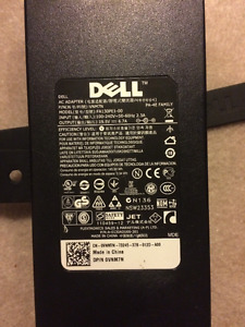 Lightly Used Dell 150W AC Power Adapter Charger