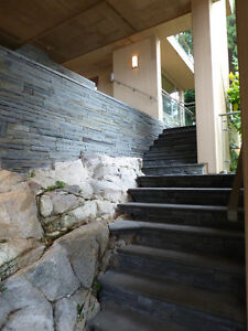 Magnificent Property On the Water on 3 levels with cottage /deck North Shore Greater Vancouver Area image 5
