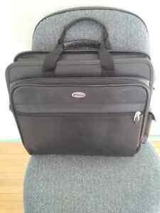 Targus Leather laptop bag Kitchener / Waterloo Kitchener Area image 1