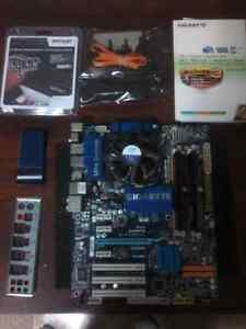 Gigabyte GA-EP45-UD3R Motherboard, DDR2 ram and CPU