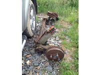 306 rear axle