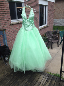 Size 10-12 Princess Prom Dress
