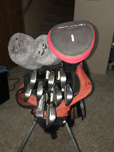 Men's left handed golf clubs with bag Strathcona County Edmonton Area image 3