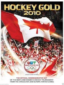 Vancouver 2010 Winter Olympics Canada Hockey Gold 2010 (5 DVDs)