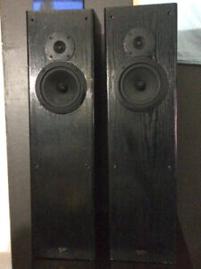 Pro-linear Tower Speakers 200wattsx2 Ported Speakers
