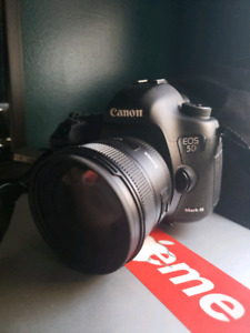 Canon 5DMKiii (free sd cards) comes with 2 batteries