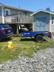 Forsale or trade 4x8 trailer
