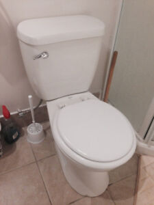 Used Toilet with Brand new in packaging tank for sale