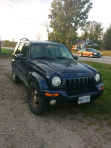 New Price!  Jeep Liberty