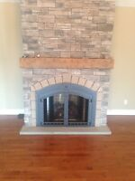 Fireplaces installed starting at $2499.00