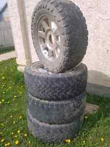 20 inch Ford superduty rims