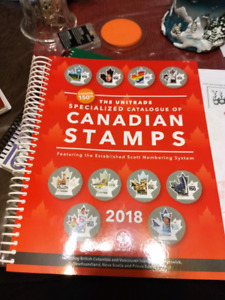Canadian stamp book  2018