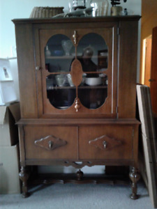Dining room buffet and china cabinet