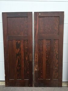 Antique solid wood doors from 1903 house