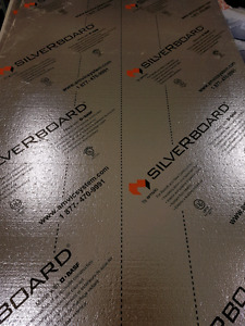 Silverboard Insulation 4X8 Sheets