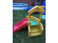 Little tikes slide and steps