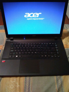 ACER laptop (6GB ram, AMD quadcore processor)