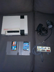 NES with 2 games