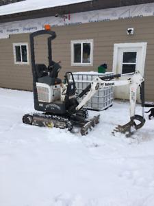 418 mini Bobcat Excavator