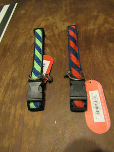 Brand new Dog Collars-tie striped size large